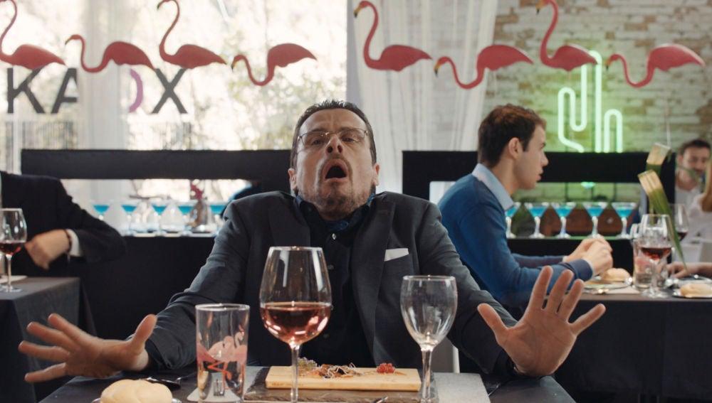 El increíble orgasmo de Ximo al probar el plato de Lukax