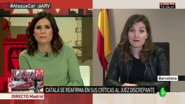 Lucía Avilés, magistrada y portavoz de la Asociación de Mujeres Juezas de España