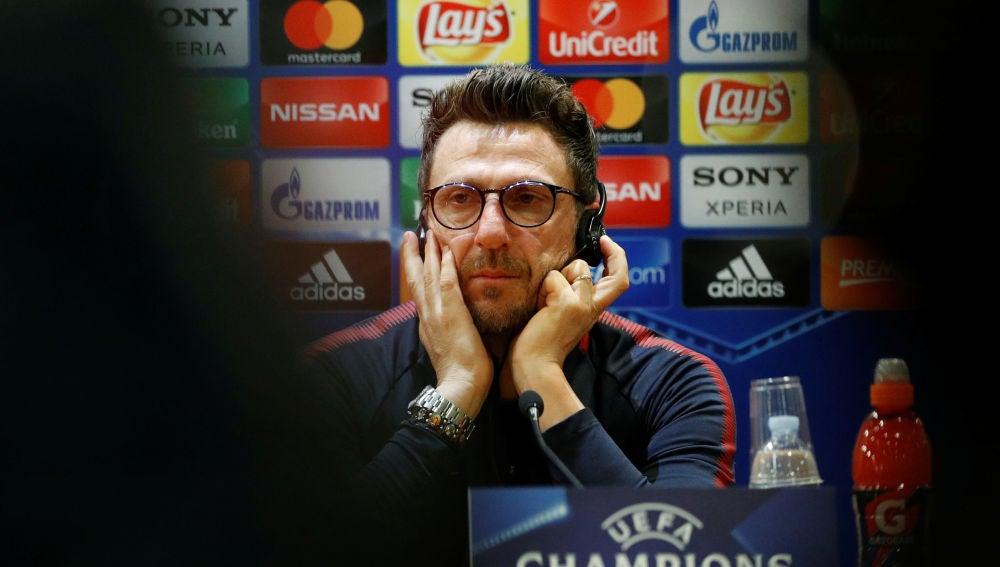 Eusebio Di Francesco, en rueda de prensa