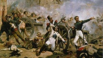 Escena del levantamiento del 2 de mayo (Archivo)