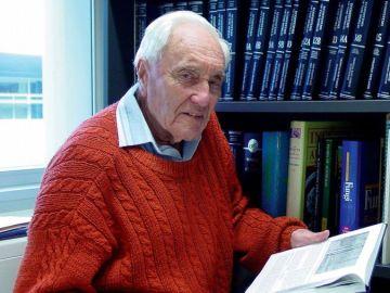 Imagen del científico australiano David Goodall, de 104 años
