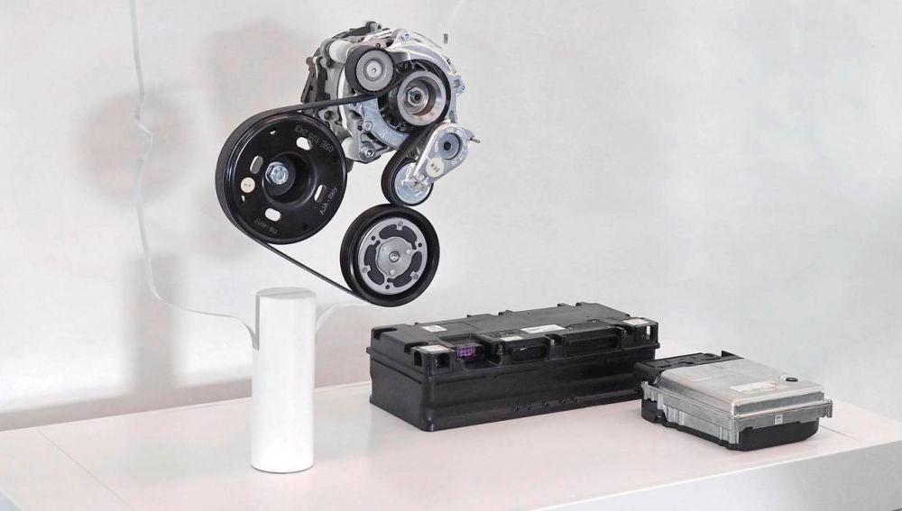 Sistema híbrido Volkswagen