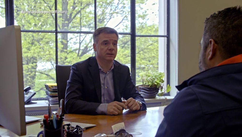Israel Ruiz, vicepresidente del MIT