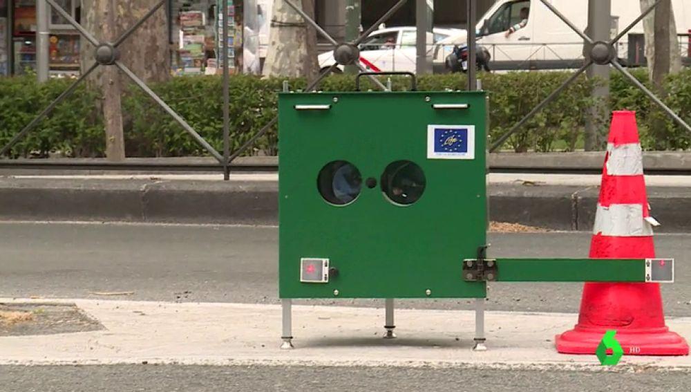 Madrid pone en marcha un medidor de gases para detectar los coches más contaminantes