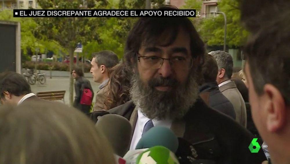 Ricardo González, el juez que pidió la absolución para 'La Manada'
