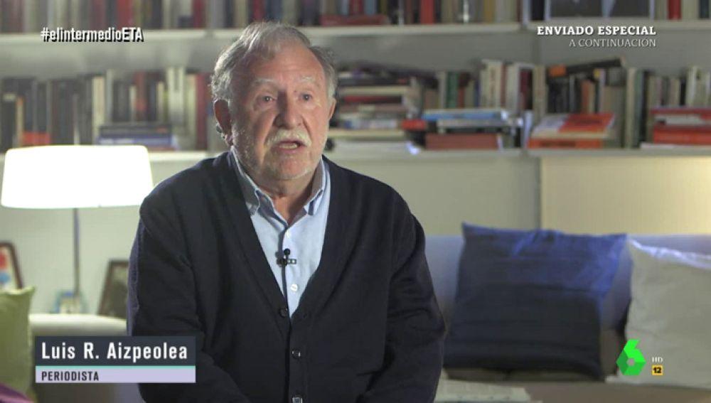 El periodista Luis R. Aizpeolea