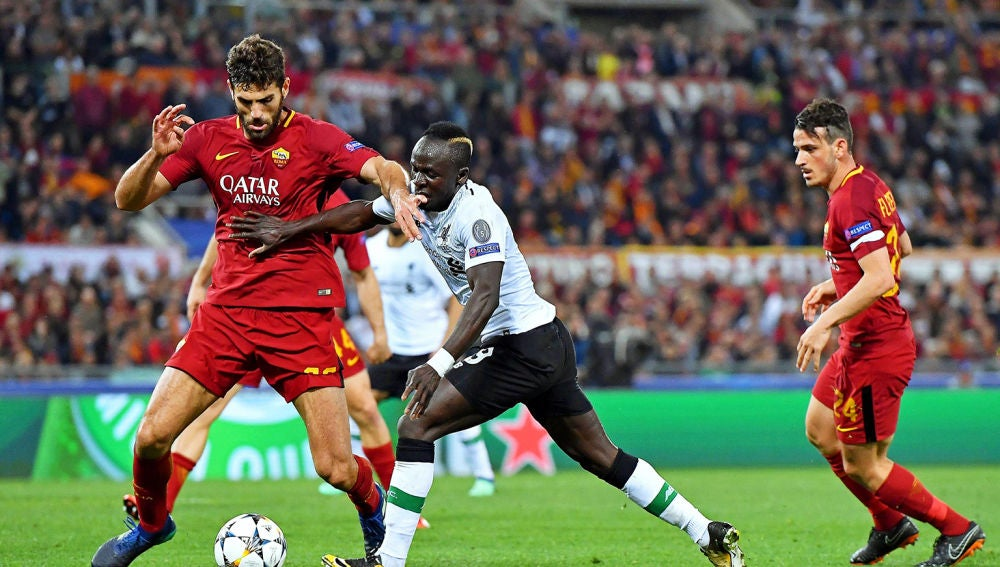 Resúmenes Champions (02-05-18) AS Roma - Liverpool