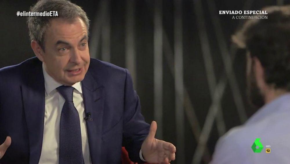 Zapatero, con Gonzo