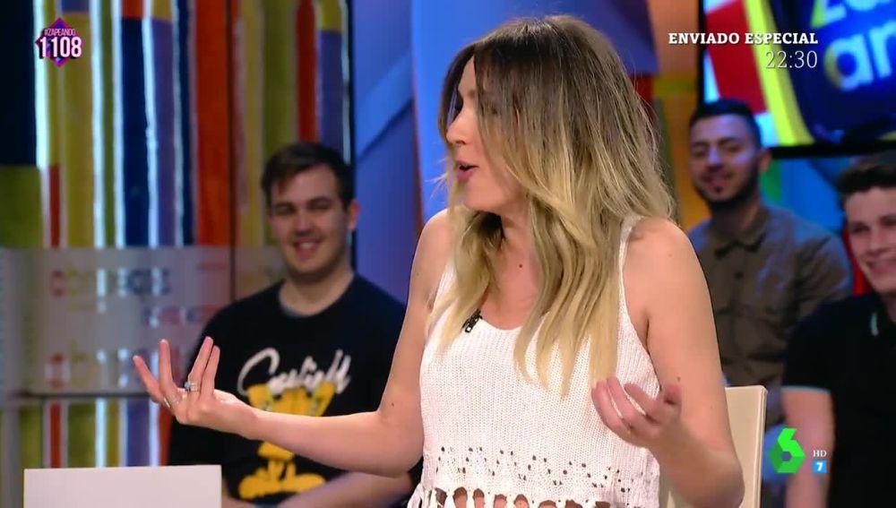 La reacción de Anna Simon a la mirada 'acusadora' de Frank Blanco