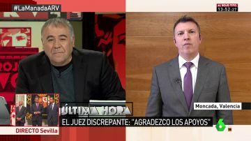 "Joaquim Bosch: ""Catalá debe dimitir, desvía responsabilidades descalificando al tribunal"""