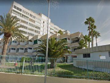Imagen de archivo de apartamentos en la Playa del Inglés