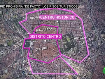 Contra la burbuja del alquiler: Madrid combatirá el 'efecto Airbnb' prohibiendo los pisos turísticos en el centro