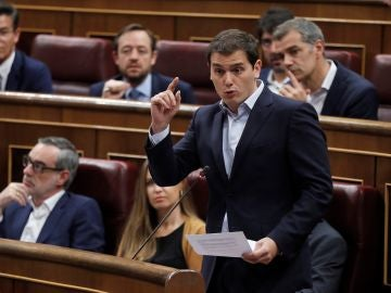 El líder de Cs, Albert Rivera