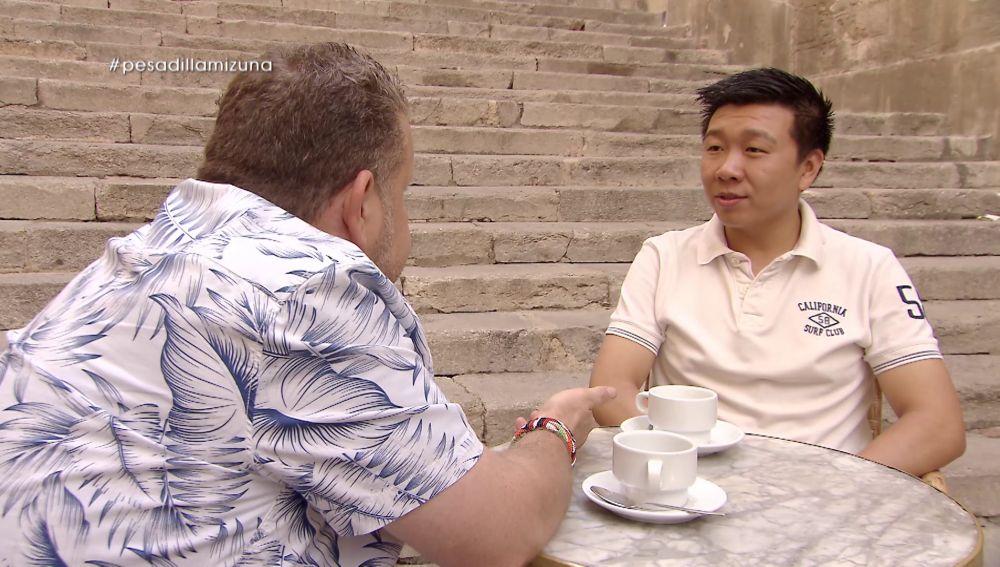 Yon y Alberto Chicote en Pesadilla en la cocina: Mizuna THAI