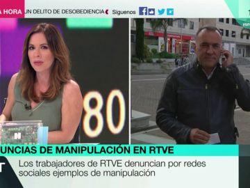 El vicepresidente del Consejo de Informativos de TVE, Xabier Fortes
