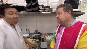 Yon y Alberto Chicote, en Pesadilla en la cocina: Mizuna THAI