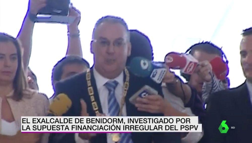 El exalcalde de Benidorm, Agustín Navarro