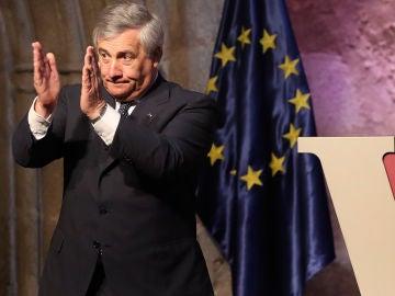 Antonio Tajani, presidente de la Eurocámara