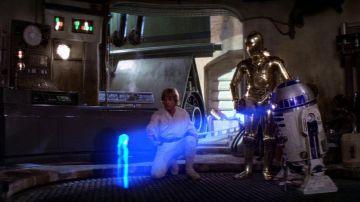 Holograma de StarWars