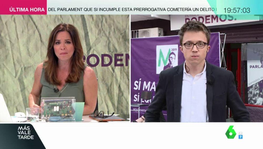 El diputado de Unidos Podemos, Íñigo Errejón