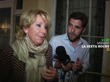 Gonzo y Esperanza Aguirre