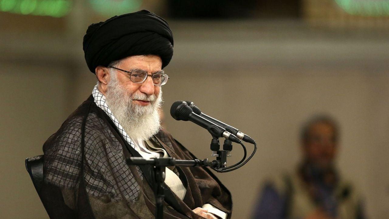 El líder supremo iraní, Alí Jameneí