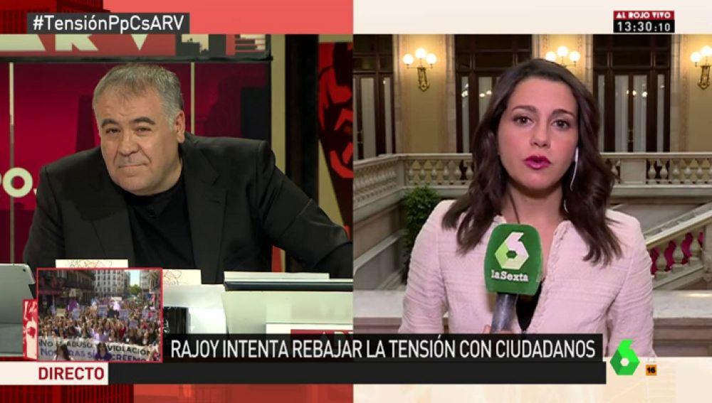 La portavoz del Comité Nacional Ejecutivo de Ciudadanos, Inés Arrimadas