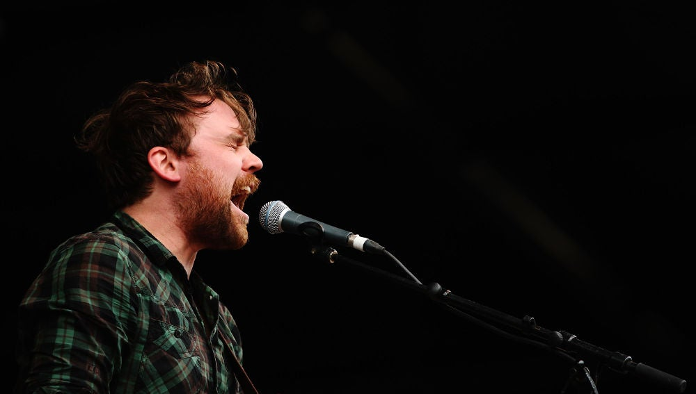 Scott Hutchison, cantante de Frightened Rabbit