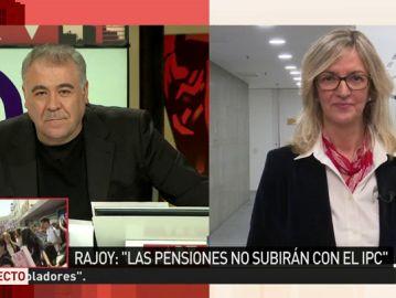 La portavoz del Grupo Socialista en el Pacto de Toledo, Mercè Perea