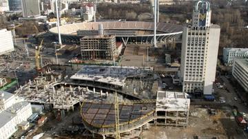 Remodelación del Estadio Olímpico de Kiev de cara a la Eurocopa