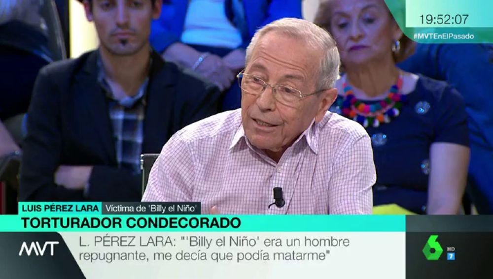 Luis Pérez Lara, víctima de 'Billy el Niño'