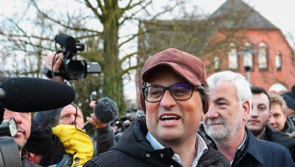 Quim Torra, candidato a presidir la Generalitat