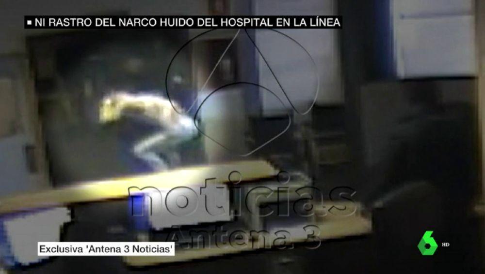 VÍDEO REEMPLAZO | El vídeo que muestra la espectacular fuga del narco Samuel Crespo del hospital de la Línea de la Concepción