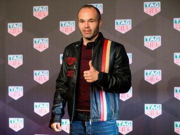 Andrés Iniesta, durante un acto publicitario