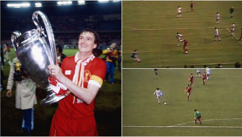 Imágenes de la final de la Copa de Europa de 1981 entre Liverpool y Real Madrid