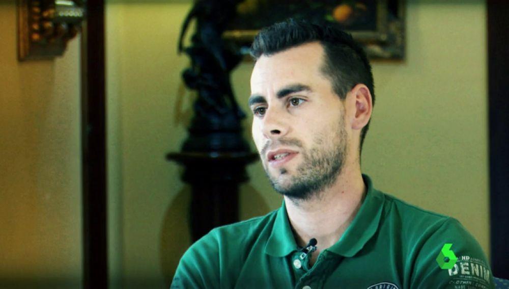 David Alonso, novio de Leticia Rosino