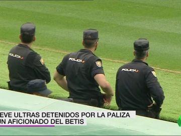 ultras detenidos DEPORTES