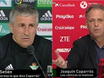 Quique Setién vs Joaquín Caparros