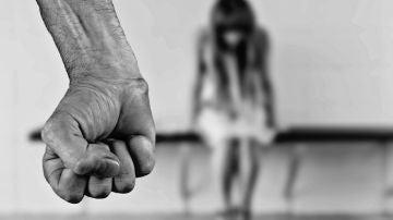 Escena de agresión sexual
