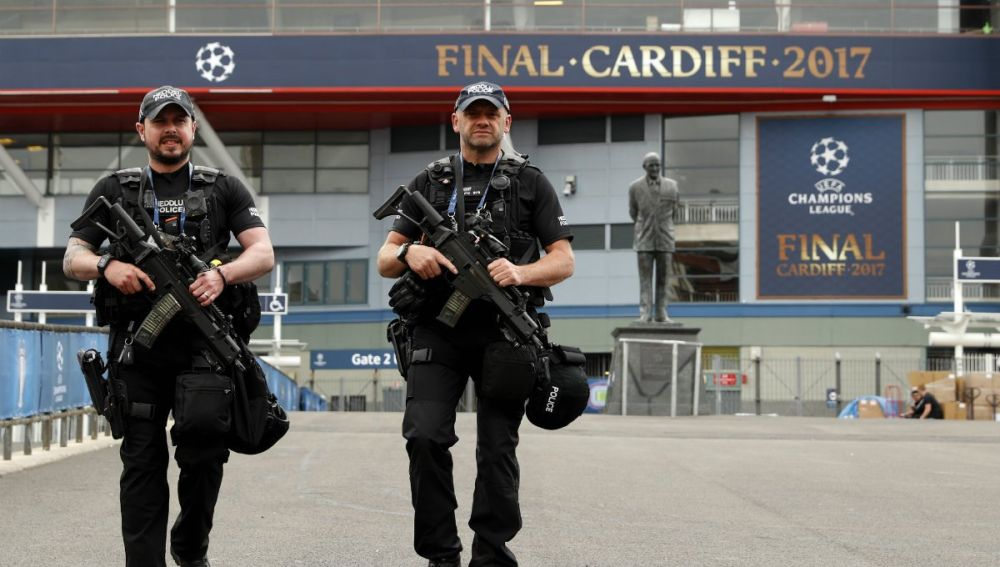 Seguridad de la Final de Cardiff 2017