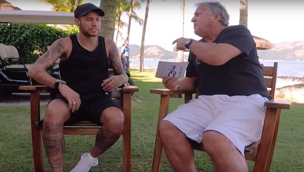 Neymar, entrevistado por Zico