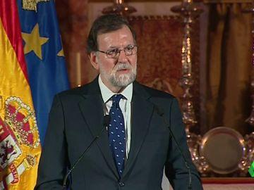 """Primera petición de Rajoy a Torra: """"Es necesario investir a un presidente legal que se ponga en su sitio"""""""
