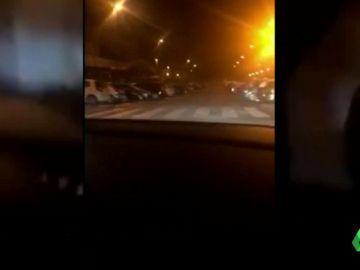 """""""¡Antonio, frena!"""": este vídeo permite imputar a un joven que intentó hacer un trompo y se estrelló contra un muro"""