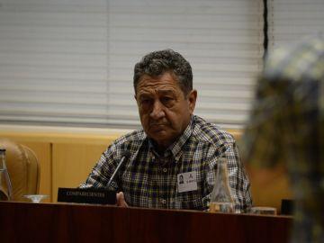 Santos González Rollán, uno de los tres trabajadores del Metro de Madrid con una enfermedad profesional  por amianto