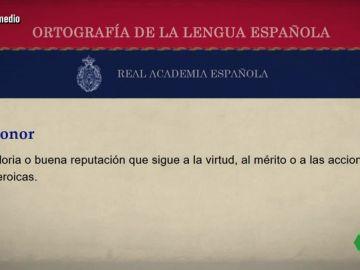 Dani Mateo aclara a Rafael Catalá lo que significa el concepto honor por el ducado de Franco