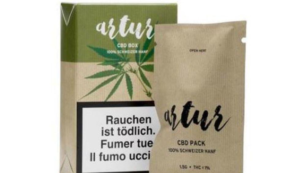 Packs de marihuana a la venta en Lidl Suiza