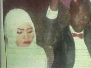 Nura Hussein, la joven violada en Sudán