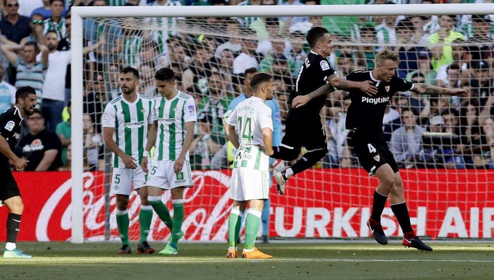 Betis vs Sevilla, en el Benito Villamarín