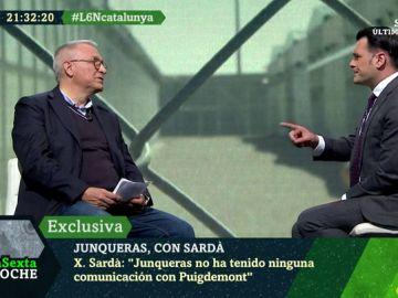 Xavier Sardà en laSexta Noche