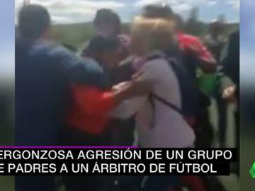 agresion arbitro